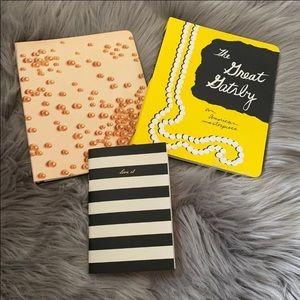 ♠️ Kate Spade notebooks (3)